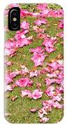 Fallen Rhododendron IPhone Case