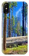 Fallen Sequoia In Mariposa Grove In Yosemite National Park-california IPhone Case