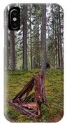 Fallen Tree IPhone Case