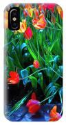 Fallen Tulips IPhone Case