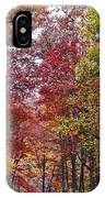 Falling For West Virginia IPhone Case