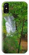 Falling Foss Waterfall In North York Moors National Park IPhone Case
