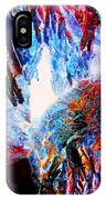 Falling Through Fire IPhone Case