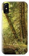 Falling Trees In The Rainforest IPhone Case