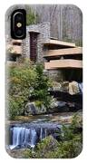 Falling Water By Frank Lloyd Wright  IPhone Case