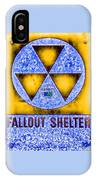 Fallout Shelter Abstract 4 IPhone Case