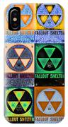 Fallout Shelter Mosaic IPhone Case