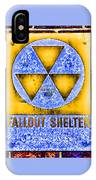 Fallout Shelter Wall 3 IPhone Case