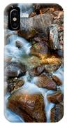 Falls And Rocks IPhone Case