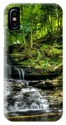 Falls And Steps IPhone Case