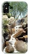 Falls At Jackalope Ranch 2 IPhone Case