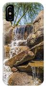 Falls At Jackalope Ranch IPhone Case