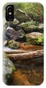 Falls On Blood Mountain Creek IPhone Case