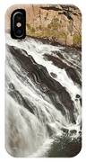 Falls On The Gibbon River In Yellowstone National Park IPhone Case