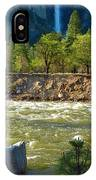 Falls On The Merced IPhone Case