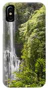 Falls On The Road To Hana IPhone Case