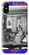 Family At Home Interior Collage Tucson Arizona Circa 1883-2012 IPhone Case