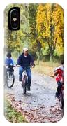 Family Bike Ride IPhone Case