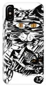 Family Cat IPhone Case