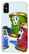 Family Discusion IPhone Case