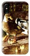 Family Of Ducks IPhone Case