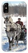 Family Sleigh Ride IPhone Case