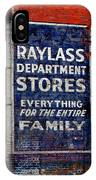 Family Store IPhone Case