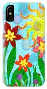 Fanciful Flowers IPhone Case