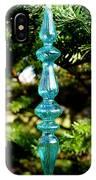 Fancy Blue Ornament IPhone Case