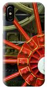 Fancy Tractor Wheel IPhone Case