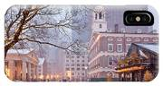 Faneuil Hall In Snow IPhone X Case