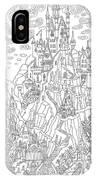 Fantasy Landscape. Fairy Tale Castle On IPhone X Case
