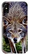 Fantasy Red Wolf IPhone Case