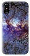 Fantasy Stars Milkyway Through The Trees IPhone Case