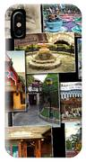 Fantasyland Disneyland Collage IPhone Case