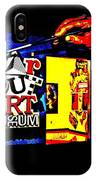Far Out Art Museum At Wonderworks IPhone Case