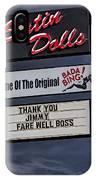 Farewell Boss IPhone Case