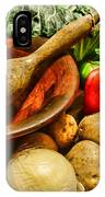 Farm Fresh Food In A Country Kitchen IPhone Case