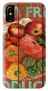 Farm Fresh Produce IPhone Case