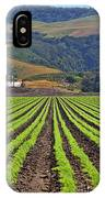 Farm Lands Of The Central Coast By Diana Sainz IPhone Case