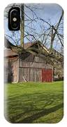 Farm Scene With Barns And Silo IPhone Case