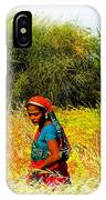 Farmers Fields Harvest India Rajasthan 2a IPhone Case