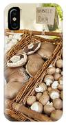Farmers Market Mushrooms IPhone Case