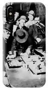Faro Game Orient Saloon C. 1900 - Arizona IPhone Case