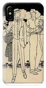 Fashion For Men Circa 1915 IPhone Case