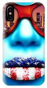 Fashionista Los Angeles Silver IPhone Case