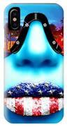 Fashionista Miami Blue IPhone Case