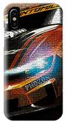 Fast Car Painting IPhone Case