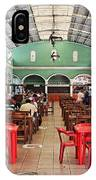 Fast Food Hall In Valladolid IPhone Case