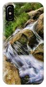 Fast Moveing Stream IPhone Case